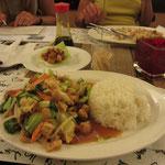 verschiedene Gemüse (gebraten, mit Tofu)