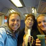 Mit viel Vorfreude auf dem Weg nach Speyer