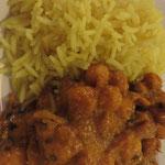 Alu Channa (Kichererbsen, Kartoffeln)