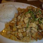 Panäng Curry (mit Tofu/Tempeh statt Hähnchen)
