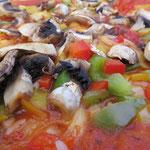 Pizza Milano ohne Salami und Käse