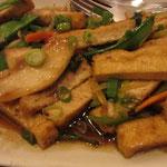Ped Krob Kratiam Phrik Tai Vegetarische Variante vegan