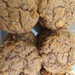 Apfel-Zimt-Rosinen-Muffins - glutenfrei, zuckerfrei und fettfrei und trotzdem richtig lecker!