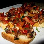Ein Gruß aus der Küche! Extra für uns gibt es heute veganes Brot.