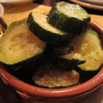 Marinierte Zucchini