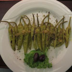 Oliven und Peperoni
