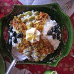 Cuisine marocaine à la Kasbah Aladdin à M'Hamid