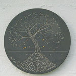 Tree plaque - Ian Marr