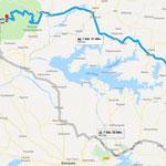 Der Weg von Tororo zum Murchinson Fall National Park