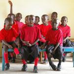 2009 unsere erste Schulstunde und Schulklasse
