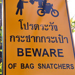 Kriminalität in Thailand beschränkt sich stark, wenn Sie als Tourist angemessen verhalten!