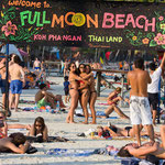 Had Rin Beach auf Koh Phangan