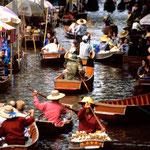 Damnoen Saduak - Flowating Market