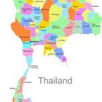 Geographie Thailands