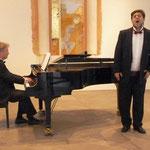 Igor Dubowski (Bass) und Holger Berndsen (Klavier) in der Gethsemanekirche