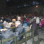 Viele Besucher kamen in die Kirche zu der Veranstaltung