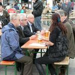 Diskussion mit Stadtrat Scheller