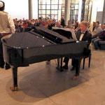 Die zahlreichen Besucher waren von der Musik hell begeistert