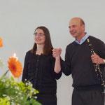 Die beiden Künstler, Frau Dr. Kunkel und Herr Ernst