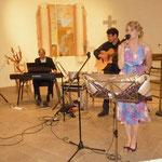 Sylvia Schindler und Kollegen bekamen viel Beifall für ihre musikalischen Darbietungen