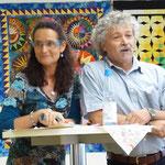 Halten die Laudatio: Ch. Kerner und Hartmut Enser