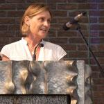 Frau Jutta Schaut begrüßte die Gäste