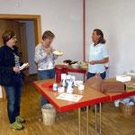 Kuchen- und Getränke gab es im Flohmarkt-Cafe