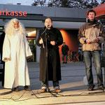 """Hermine Seelmann von der """"Sozialen Stadt"""" begrüßte die Gäste"""