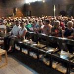 Viele Besucher kamen zum Konzert in die Kirche St. Sebastian