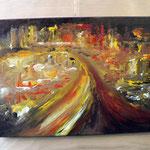Acryl auf Leinwand von Elisabeth Kitzinger