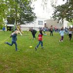 """""""Tanz mit Seilen"""" zeigte die Klasse 2a H von der Leonhard-Frank-Schule Heuchelhof"""
