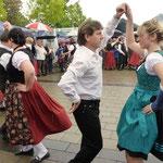 Absolut sehenswert die Tanzgruppe, in diesem Jahr verstärkt duch Tänzerinnen und Tänzer aus Crailsheim