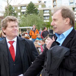 Herr Siegfried Scheidereiter vom Sozialreferat der Stadt begrüßt die Anwesenden