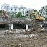 Baustelle Ende Mai 2010