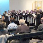23 Sängerinnen und Sänger traten in Gethsemane auf