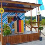 Der Direktor der AB-Direktion Nordbay., Herr Pirner, begrüßte die Gäste