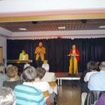 Die drei Interpreten des Abends