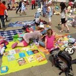 Hier wurden hauptsächlich Kinderbücher angeboten