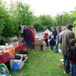 Der Fohmarkt mit Waren vorwiegend für Erwachsene