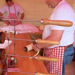 """Das Restaurant """"Paprika"""" bot neben Eis und Schaschliks auch die ungarische Spezialität """"Artabla"""" an"""
