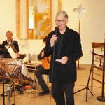 Kulturamtsleiter Herr Johannes Engels eröffnete die Vernissage