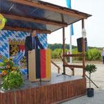 Herr Scheuer vom Bundesverkehrsministerium in Berlin hob die Priorität des 6-spurigen Ausbaus der A 3 hervor