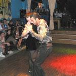Mike und Sara von der Tanzschule Hartung mit einem argentinischen Tango