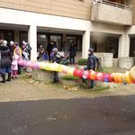 Kurze Zeit später erreichte der Gaudiwurm die Luxemburger Straße