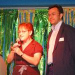 Bürgermeisterin Fr. Schäfer-Blake u. Sozialreferent H. Scheller bezeichneten das JZH als eine Erfolgsgeschichte und wünschten dem Zentrum alles Gute und weiterhin viel Erfolg