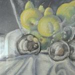 """""""Obstschale"""" - ein Pastell-Gemälde"""