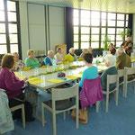 Der Chor im Gemeindesaal von Gethsemane