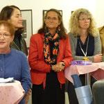 Bürgermeisterin M. Schäfer-Blake überbrachte die Glückwünsche der Stadt und zeigte sich beeindruckt von den zahlreichen Hilfsdiensten der Arche