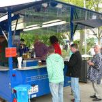 Der Getränkeausschank vom Bürgerverein