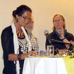 Christiane Kerner bedankt sich für den Bürgerverein bei allen Mitwirkenden